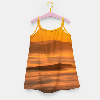 Miniaturka Sunrise colors and clouds Girl's dress, Live Heroes