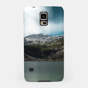 Thumbnail image of Magnificent lake Krn with mountain Krn, Slovenia Samsung Case, Live Heroes