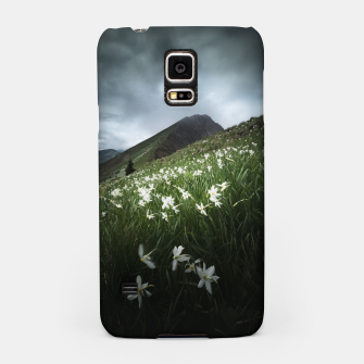 Thumbnail image of Mountain Golica and Narcissus flowers Samsung Case, Live Heroes
