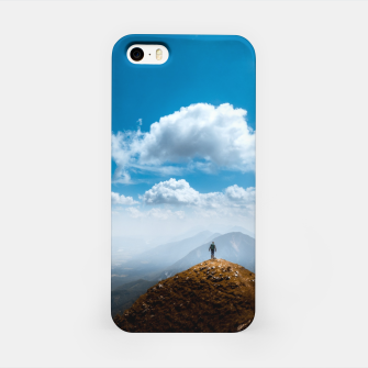 Miniatur Exploring new heights iPhone Case, Live Heroes