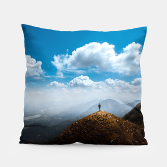 Miniatur Exploring new heights Pillow, Live Heroes