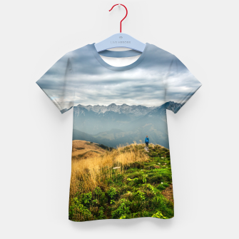 Imagen en miniatura de Exploring new locations Kid's t-shirt, Live Heroes