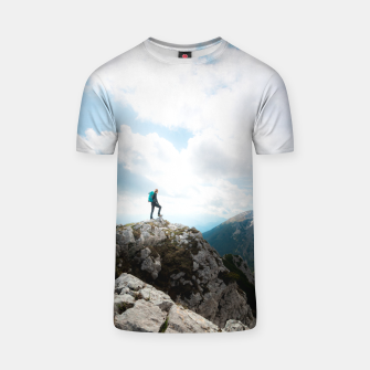 Miniatur Looking over new adventures T-shirt, Live Heroes