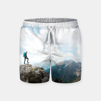 Miniatur Looking over new adventures Swim Shorts, Live Heroes