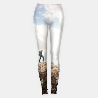 Mountain wanderer Leggings Bild der Miniatur