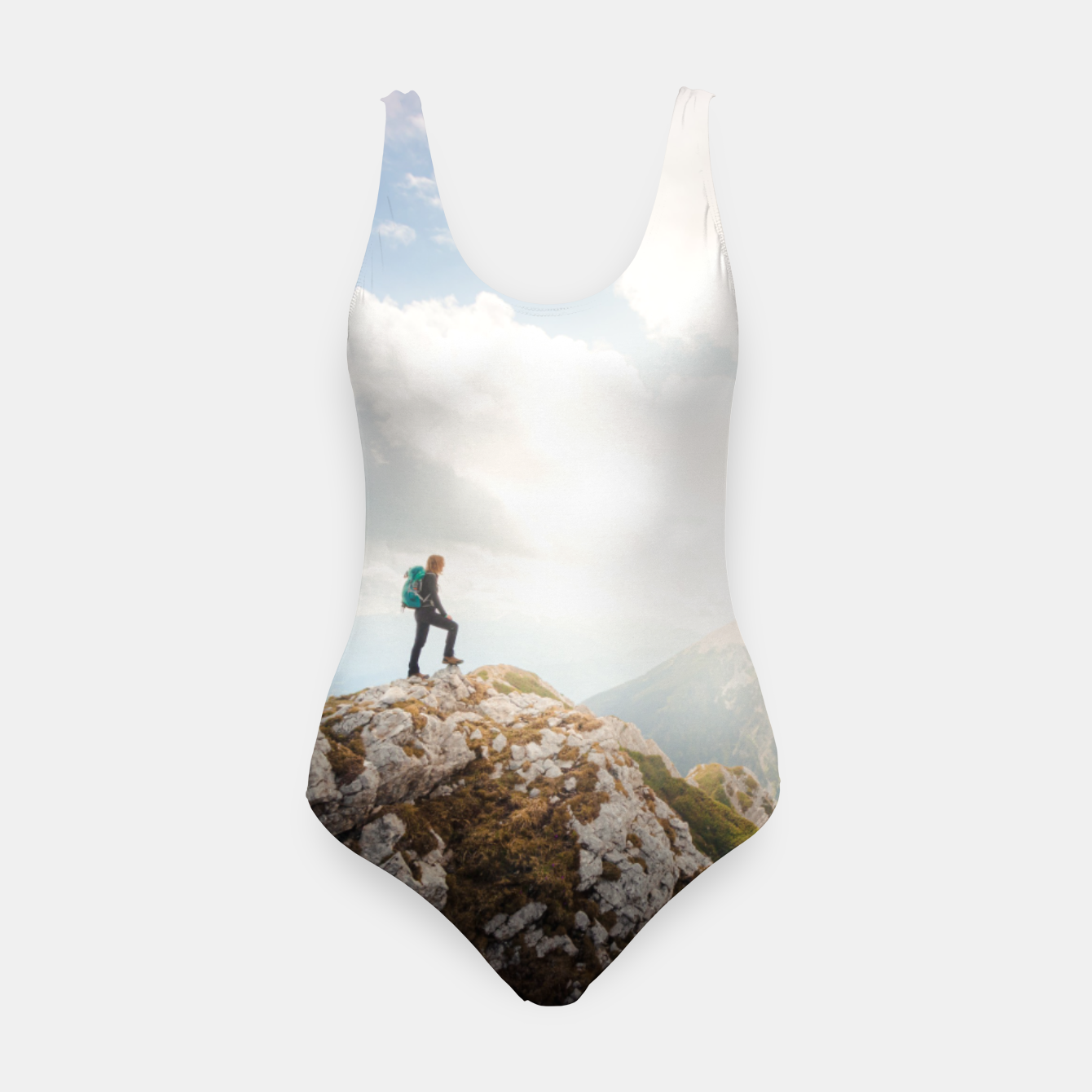 Foto Mountain wanderer Swimsuit - Live Heroes