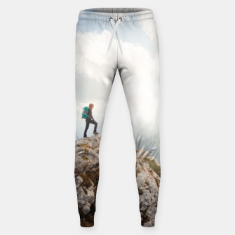 Mountain wanderer Sweatpants Bild der Miniatur