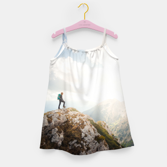 Mountain wanderer Girl's dress Bild der Miniatur