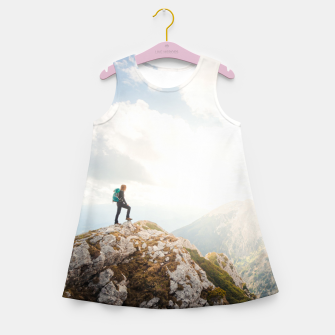 Mountain wanderer Girl's summer dress Bild der Miniatur