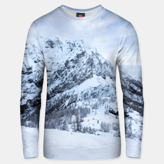 Miniature de image de Winter wonderland explorer Unisex sweater, Live Heroes