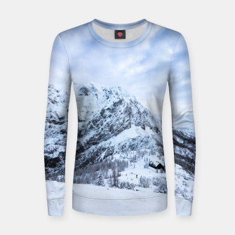 Miniatur Winter wonderland explorer Women sweater, Live Heroes