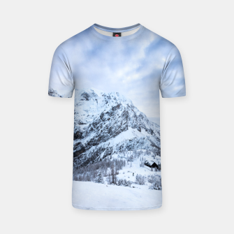 Miniatur Winter wonderland explorer T-shirt, Live Heroes