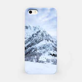 Miniatur Winter wonderland explorer iPhone Case, Live Heroes