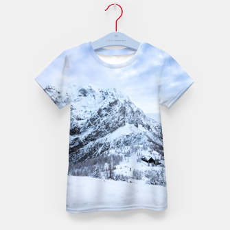 Miniature de image de Winter wonderland explorer Kid's t-shirt, Live Heroes