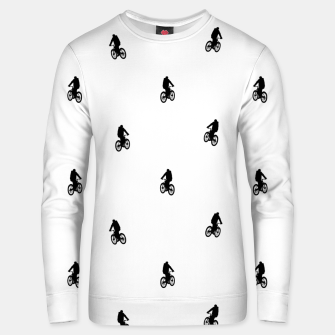 Miniaturka Riding Bike Motif Print Pattern Unisex sweater, Live Heroes