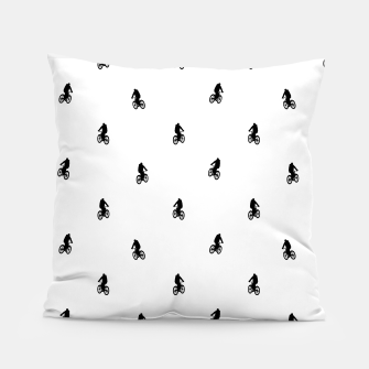 Miniaturka Riding Bike Motif Print Pattern Pillow, Live Heroes