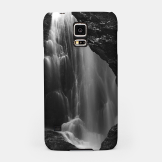 Thumbnail image of Black and white waterfall long exposure Samsung Case, Live Heroes