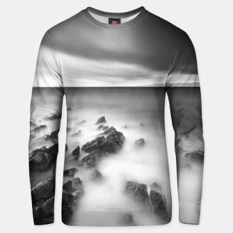Thumbnail image of Dramatic rocky shore Unisex sweater, Live Heroes