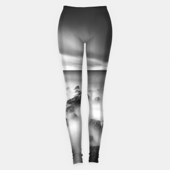 Thumbnail image of Dramatic rocky shore Leggings, Live Heroes