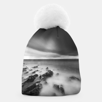 Thumbnail image of Dramatic rocky shore Beanie, Live Heroes