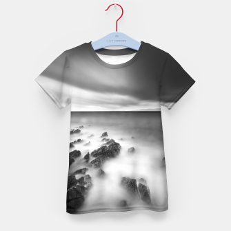 Thumbnail image of Dramatic rocky shore Kid's t-shirt, Live Heroes