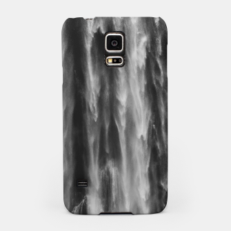 Miniatur Majestic waterfall Boka, Slovenia upclose Samsung Case, Live Heroes