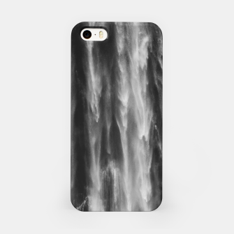 Miniatur Majestic waterfall Boka, Slovenia upclose iPhone Case, Live Heroes