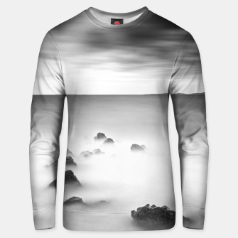 Thumbnail image of Rocky and milky sea Unisex sweater, Live Heroes