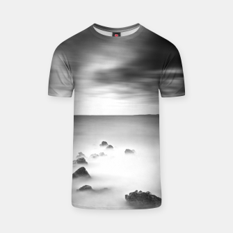 Thumbnail image of Rocky and milky sea T-shirt, Live Heroes