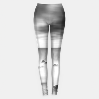 Thumbnail image of Rocky and milky sea Leggings, Live Heroes