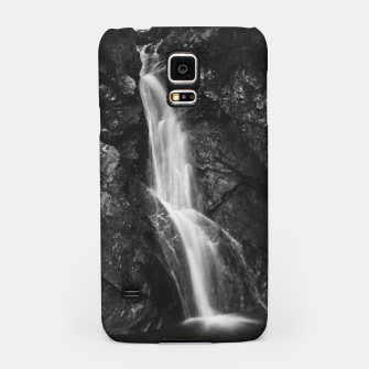 Miniatur Waterfall in Hell Gorge, Slovenia Samsung Case, Live Heroes