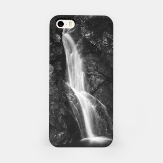 Miniatur Waterfall in Hell Gorge, Slovenia iPhone Case, Live Heroes