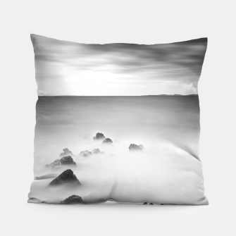 Thumbnail image of Rocky and milky sea Pillow, Live Heroes