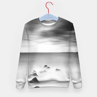 Thumbnail image of Rocky and milky sea Kid's sweater, Live Heroes