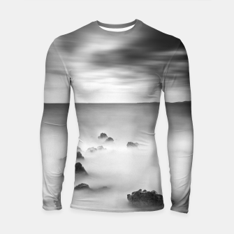 Thumbnail image of Rocky and milky sea Longsleeve rashguard , Live Heroes