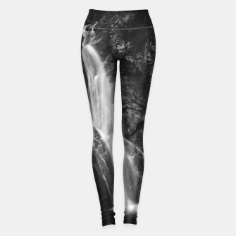 Miniature de image de Waterfall in Hell Gorge, Slovenia Leggings, Live Heroes