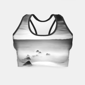 Thumbnail image of Rocky and milky sea Crop Top, Live Heroes