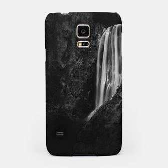 Miniatur Majestic waterfall Boka in Slovenia Samsung Case, Live Heroes