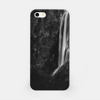 Miniatur Majestic waterfall Boka in Slovenia iPhone Case, Live Heroes
