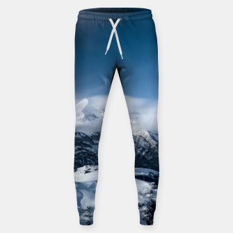 Miniaturka Clouds rolling above snowy mountains Sweatpants, Live Heroes