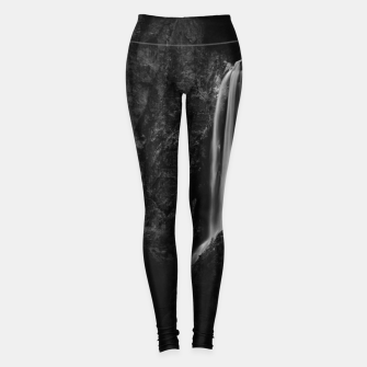 Miniature de image de Majestic waterfall Boka in Slovenia Leggings, Live Heroes