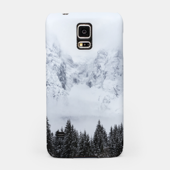 Miniaturka Snowy mountains and spruce forest Samsung Case, Live Heroes