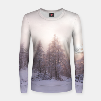 Miniature de image de Sunlight and spruce forest Women sweater, Live Heroes