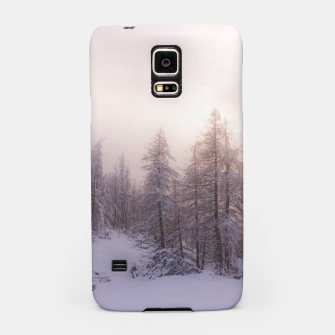 Miniature de image de Sunlight and spruce forest Samsung Case, Live Heroes