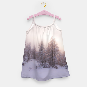 Miniature de image de Sunlight and spruce forest Girl's dress, Live Heroes