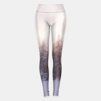 Miniature de image de Sunlight and spruce forest Leggings, Live Heroes