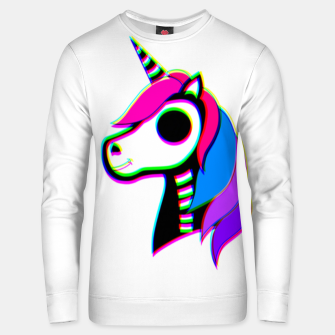 Thumbnail image of Unicorn skeleton  Unisex sweater, Live Heroes