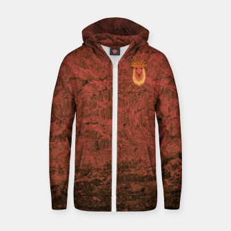 Thumbnail image of Forest Spirit Zip up hoodie, Live Heroes