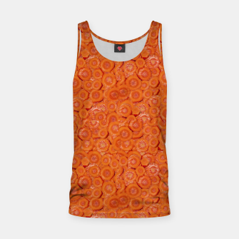 Thumbnail image of Carrot Pieces Motif Print Pattern Tank Top, Live Heroes