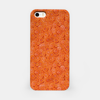 Thumbnail image of Carrot Pieces Motif Print Pattern iPhone Case, Live Heroes